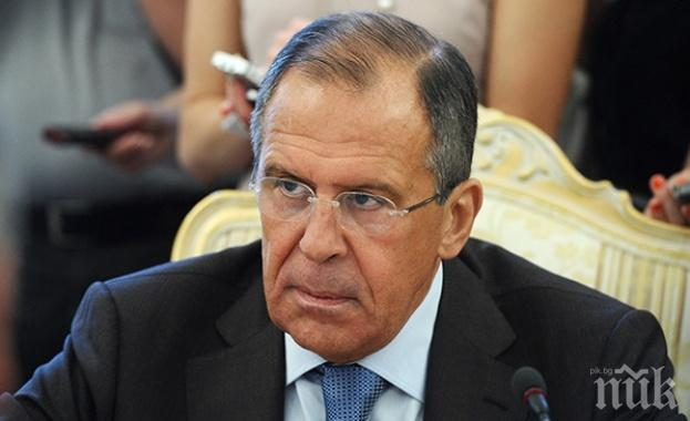 Външният министър на Русия обяви каква е причината за въвеждането на поредните санкции на САЩ срещу Москва