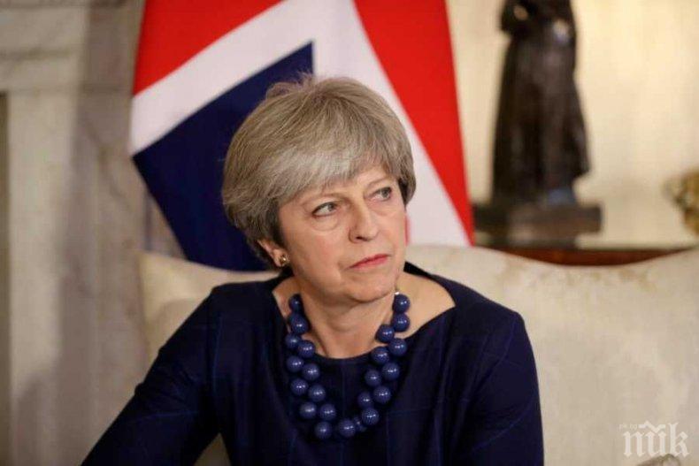 Премиерът на Великобритания: Ударихме Сирия не по заповед на Тръмп