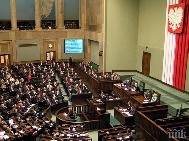 Полският Сенат внесе леки промени в спорната съдебна реформа