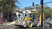 Започна заключителният етап на ремонта на един от основните булеварди във Варна
