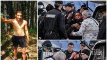 ЕКСКЛУЗИВНО! Ето го Йордан Исаев, който за малко не уби полицайка с бомбичка (СНИМКИ)