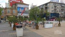Акция на данъчните в Бургас запечата площадно заведение