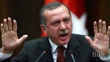 Ердоган призова за мир с Гърция