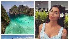 ПЕЧЕ ЛИ СЕ СПОЙКА? Мегз била в Тайланд със син на олигарх! Вдига самолета на любовника си с... oтpoвa нa cĸopпиoн