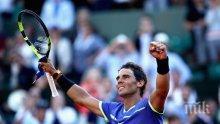 БЕЗАПЕЛАЦИОННО! Кралят е само един! Рафа Надал с рекордна титла