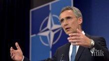 НАТО няма да вземе страна в гръцко-турския спор