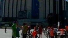 Благородна кауза! В четири града се проведе велопоход в подкрепа на хората, страдащи от хемофилия
