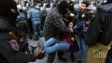 Арменската полиция арестува опозиционния лидер Никол Пашинян