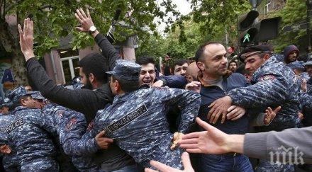 Напрежението в Армения расте! Десети ден продължават протестите срещу властта