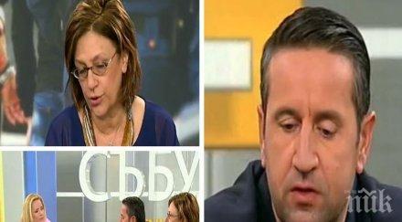 ИСКРИ В ЕФИР! Георги Харизанов и Татяна Буруджиева се хванаха гуша за гуша заради президента Радев и кметицата на Младост
