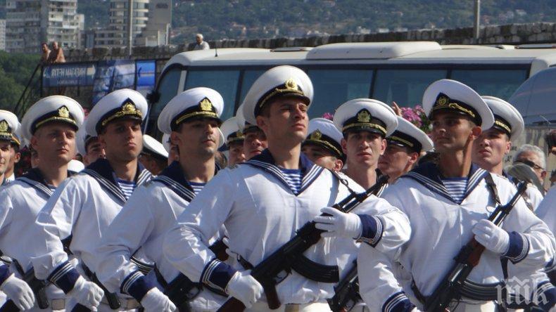 Повишава се интересът към професията на военните моряци