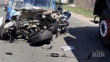 СМЪРТ НА ПЪТЯ! Шофьор загина след зверски удар с румънски автомобил край Каварна