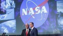 Новия шеф на НАСА има много поздрави от космоса