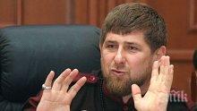 Кадиров заплаши с арест Тръмп и Меркел, ако отидат в Чечения