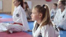13-годишната Екатерина стана европейска шампионка по таекуон-до