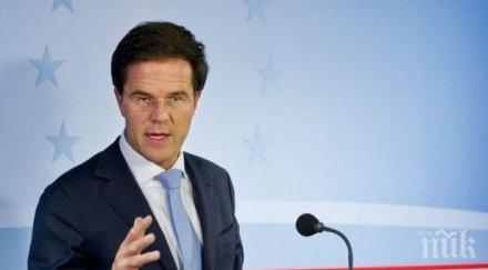 холандският премиер марк рюте оцеля вот недоверие