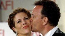 Барак Обама и Опра Уинфри поляха 30-годишния брак на Том Ханкс