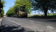 """Започна ремонтът на 8-километрова отсечка от магистрала """"Тракия"""" на входа на Бургас"""
