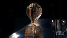 МИСТЕРИЯ! Дървена статуя е два пъти по-стара от пирамидите! Шигирският идол има 8 човешки лица, крие много тайни