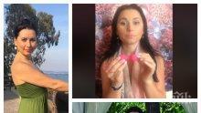 УНИКУМ! Наталия Кобилкина показа какво пъха във вагината си: Ето така се оргазмира яко! (ВИДЕО 18+)