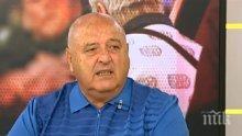БРУТАЛНО! Фенове към Венци Стефанов: Умри, търбух смрадлив! (СНИМКИ)