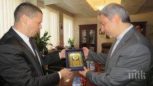 Губернаторът на Софийска област се срещна с посланика на Иран