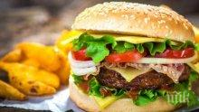Пенсионер изяде 30-хилядния си хамбургер