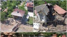 БОЛИД! Тирът в Златна Панега се забил в къщите с над 100 км/ч! Потърпевш: Бомбите в Сирия не могат да направят такива разрушения