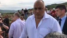 Премиерът Борисов посети разкопките на Античния град Хераклея Синтика край Петрич (ВИДЕО)