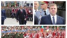 ИЗВЪНРЕДНО В ПИК TV! Армията чества 140-та си годишнина, Деня на храбростта и Св. Георги, президентът Радев приема парада