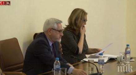 ИЗВЪНРЕДНО В ПИК TV! Представиха пред Министерския съвет Комисията за преговори с Македония