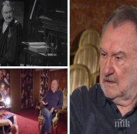Без грим! Големият Васил Михайлов ексклузивно за живота, за отказаната награда на Съюза на артистите и за ролите, които иска, но няма да изиграе
