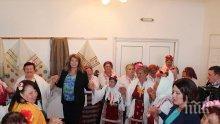 Посрещат с гагаузки гозби Илияна Йотова в Каварна
