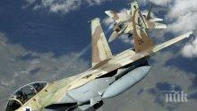 Израелски самолети удариха ивицата Газа
