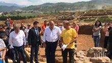 """Кабинетът дава още 100 000 лева за разкопките на """"Струма"""""""