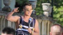 """Синът на Деси Слава и """"Мистър България"""" избухнаха с АРТи в новия му клип (ВИДЕО)"""