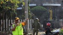 """От терористичната групировка """"Ислямска държава"""" поеха отговорност за атентатите в Индонезия"""