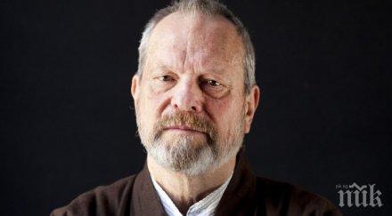 Култовият режисьор Тери Гилиъм е получил инфаркт