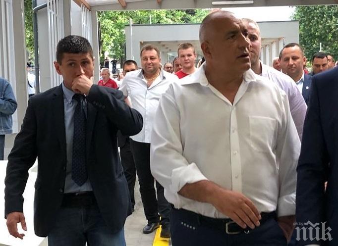 ИЗНЕНАДВАЩО! Борисов в Пловдив, инспектира пътя за Асеновград