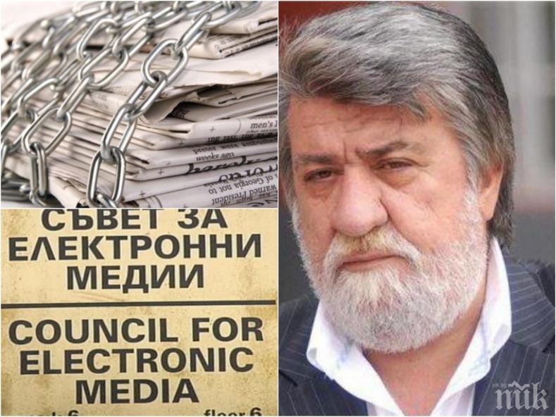 ЕКСКЛУЗИВНО И САМО В ПИК TV! Вежди Рашидов с остър коментар за СЕМ, медиите, свободата на словото и шайката на Прокопиев (ОБНОВЕНА)