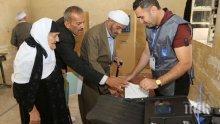 В изборите в Ирак гласоподавателите бяха освободени от проблемите на всекидневието си
