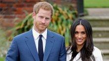 Разделят Меган и Хари часове преди сватбата
