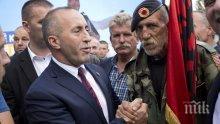 Премиерът Рамуш Харадинай призова косовските сърби да подкрепят създаването на армия