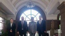"""Вицепрезидентът Йотова подкрепи Джамбазки за Български културен институт """"Св. св. Кирил и Методий"""""""