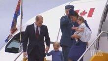 Принц Джордж и принцеса Шарлот ще са шафери на венчавката на Хари и Меган