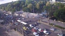 ИЗВЪНРЕДНО В ПИК! София под обсада, затворени улици и драконовски мерки за сигурност (СНИМКИ)
