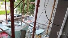 Кабеларки спъват санирането на блок в Пловдив
