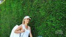 ШАМПИОН ОТ МАЛЪК! Цвети Пиронкова калява сина си с тенис (СНИМКА)