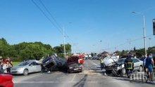 ЕКСКЛУЗИВНО! Стана ясна причината за зверското меле с осем коли във Варна