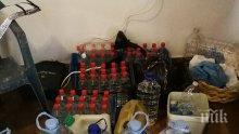 """Задържаха 340 литра нелегален етилов алкохол на магистрала """"Тракия"""""""